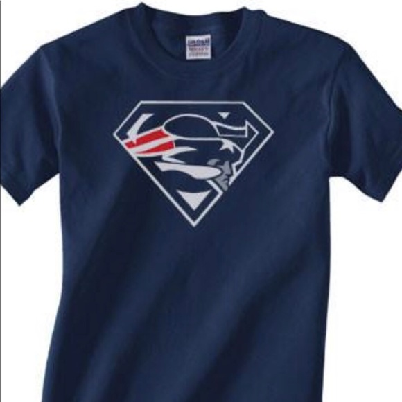 New England patriots Superman T-shirt all sizes 0fc03ff9f